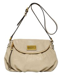 Marc By Marc Jacobs Natural Classic Q Natasha Embossed Leather Bag