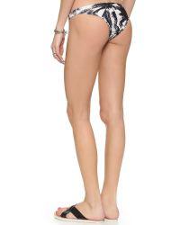 Mikoh Swimwear | Multicolor Miyako Bikini Bottoms - Polynesian Palm | Lyst