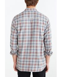 Stapleford | Gray Bates Acid Plaid Flannel Button-down Shirt for Men | Lyst
