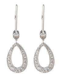 KC Designs | Metallic 14k Diamond Teardrop Earrings | Lyst