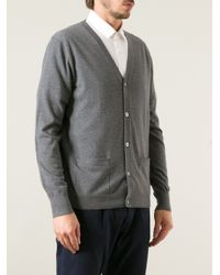 Acne Studios | Gray Button Up Cardigan for Men | Lyst