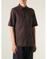 Marni | Brown Short Sleeve Shirt for Men | Lyst