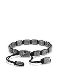 David Yurman - Black Sky Large Tile Bracelet for Men - Lyst