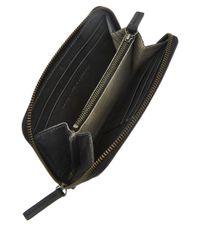 Ally Capellino Black Beth Ziparound Leather Purse