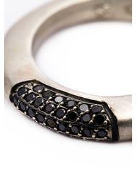 Rosa Maria - Black Sapho Ring - Lyst