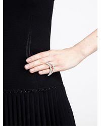 Carolina Bucci - Opal Diamond and White Gold Smile Ring - Lyst