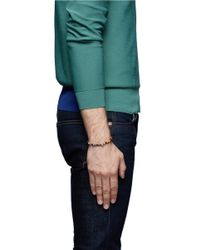 Luis Morais - Multicolor Skull Charm Multicolour Bead Bracelet for Men - Lyst
