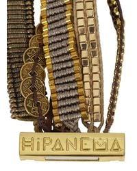Hipanema | Metallic Gold Tone Embellished Cuff | Lyst
