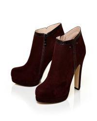 Moda In Pelle - Red Berenice V High Smart Short Boots - Lyst