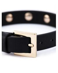 Valentino - Black Garavani 'rockstud' Bracelet - Lyst