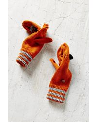 Urban Outfitters Orange Kitsch Animal Convertible Glove