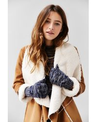 Urban Outfitters | Blue Space-dye Patch Convertible Glove | Lyst
