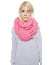 White + Warren | Red Cashmere Travel Wrap Scarf | Lyst