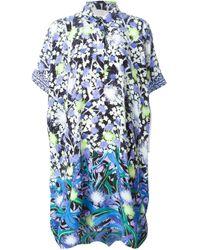 Peter Pilotto - Blue Kaftan Dress - Lyst