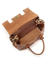 Mulberry - Brown Cara Delevingne Convertible Leather Satchel - Lyst
