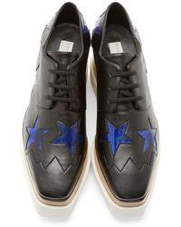 Stella McCartney Black Platform Elyse Shoes