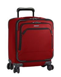 Briggs & Riley | Red 'transcend' Wheeled Commuter Bag for Men | Lyst