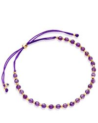 Biography | Purple Amethyst Skinny Bracelet | Lyst
