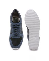 Veja Blue Holiday Flannel Sneakers for men