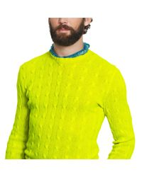Polo Ralph Lauren | Green Cable-knit Cashmere Sweater for Men | Lyst