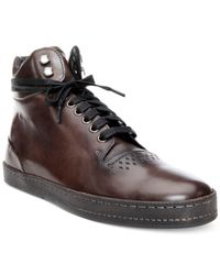 Donald J Pliner | Gray Jonas High-tops for Men | Lyst