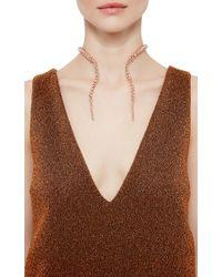 Paula Mendoza | Pink Rose Gold Double Glaucus Bubble Necklace | Lyst