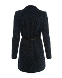 Ba&sh | Black Icare Tweed Wrap Coat | Lyst