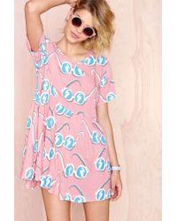Nasty Gal - Multicolor Lazy Oaf Sunglasses Dress - Lyst