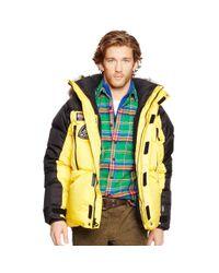 Ralph Lauren | Yellow Water-resistant Down Parka for Men | Lyst