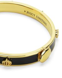 Juicy Couture | Metallic Crown Enamel Bangle | Lyst