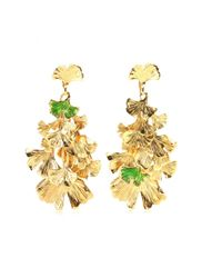 Aurelie Bidermann | Metallic Tangerine Gold-Plated Earrings | Lyst