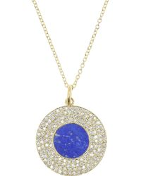 Jennifer Meyer | Blue Evil Eye 18-karat Gold Multi-stone Necklace | Lyst