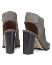 Whistles Gray Alder Leather Shoe Boots
