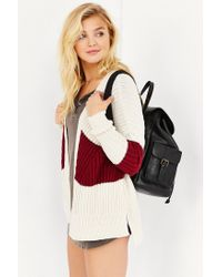 BDG | Natural Mixed Colorblock Cardigan | Lyst