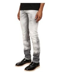 DSquared² - Gray Grey Denim Slim Jeans for Men - Lyst
