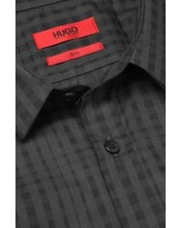 HUGO Black 'ero' | Slim Fit, Cotton Button Down Shirt for men