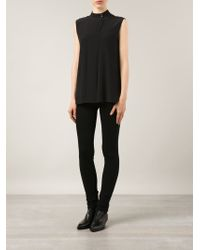 Goldsign Black Lure Low Rise Skinny Jeans