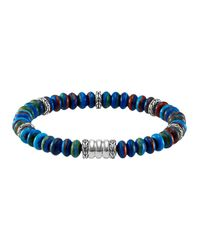 John Hardy | Multicolor Mens Batu Bedeg Rainbow Beaded Bracelet for Men | Lyst