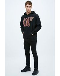 Odd Future Optical Donut Hoodie in Black for men