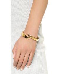 Maiyet - Metallic Horn Tip Bracelet - Lyst