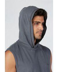 True Religion | Gray Pullover Sleeveless Mens Hoodie for Men | Lyst
