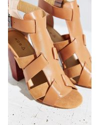 Kelsi Dagger Brooklyn | Brown Belle Heel | Lyst