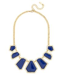 BaubleBar Blue Mini Hex Strand