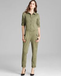Marc By Marc Jacobs Green Jumpsuit Samantha Twill