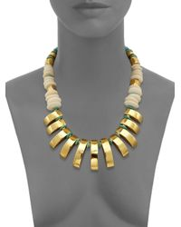Lizzie Fortunato - Metallic 'sugar Reef' Necklace - Lyst
