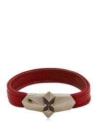 Tomasz Donocik Red Shard Burst Bracelet