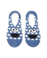 Forever 21 - Blue Sesame Street Ankle Socks Set - Lyst
