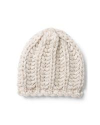 Polo Ralph Lauren - Natural Alpaca-blend Knit Beanie - Lyst