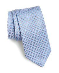 John W. Nordstrom Blue 'bellone' Geometric Silk Tie for men