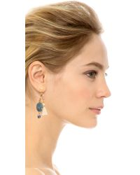 Gas Bijoux | Serti Pondicherie Earrings - Blue Multi | Lyst